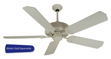 "Craftmade AT52W - American Tradition 52"" Ceiling Fan in White (Blades Sold Separately)"