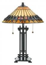 Quoizel TF489T - Tiffany Table Lamp