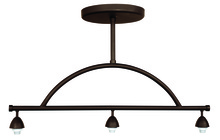 Jeremiah CP8-3JBZ - Design-A-Fixture 3 Light Island Hardware in Aged Bronze