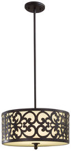 Minka-Lavery 1493-357 - 3 Light Pendant