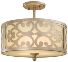 Minka-Lavery 1498-252 - 3 Light Semi Flush Mount