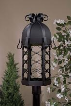 Minka-Lavery 9246-1-66-PL - One Light Black Post Light