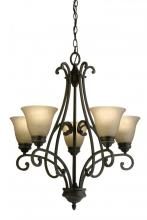 Light Concepts (Lithonia) 10726 BZA - Bronze Up Chandelier