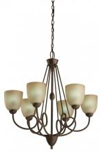 Light Concepts (Lithonia) 10886 BZG - Bronze Up Chandelier