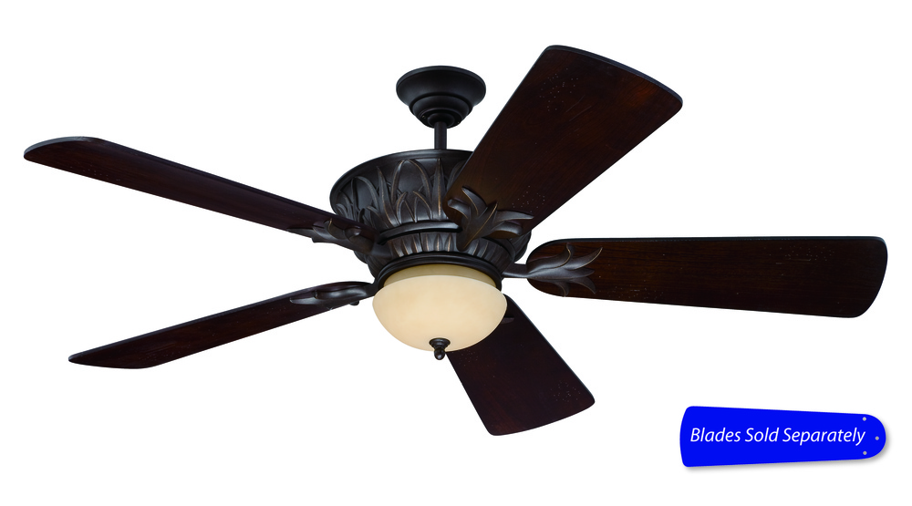 "Pavilion 52"" Ceiling Fan in Aged Bronze Textured (Blades Sold Separately)"