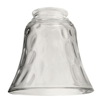 "Craftmade 635C - 2 1/4"" Fan Glass, Bell Shaped in Clear"