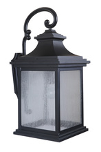 Craftmade Z3224-11 - 1 Light Midnight Outdoor Large Wall Mount