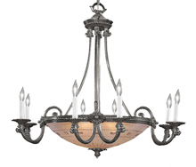 Crystorama 9008-PW - Crystorama 13 Light Pewter Chandelier