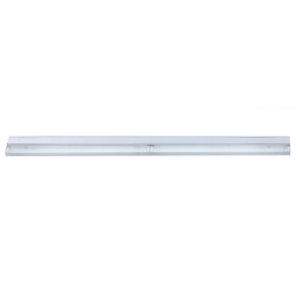Fluorescent Undercabinets Collection 2-Light 42-inch White Light Fixture