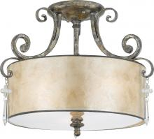 Quoizel KD1716MM - Kendra Semi-Flush Mount