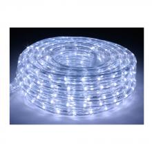 American Lighting LR-LED-CW-15 - 15 Foot Cool White 6400 Kelvin LED Flexible Rope Light Kit with Mounting Clips