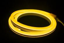 "American Lighting P2-NF-24V-AY - POLAR2 Neon, 150' Reel, 24 Volt, 2.8 W/Ft, 12"" Cuttability, Amber Jacket, White LED,"