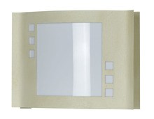 CAL Lighting LA-175-BE - 18W Plc Steel/Acrylic Wall Lamp