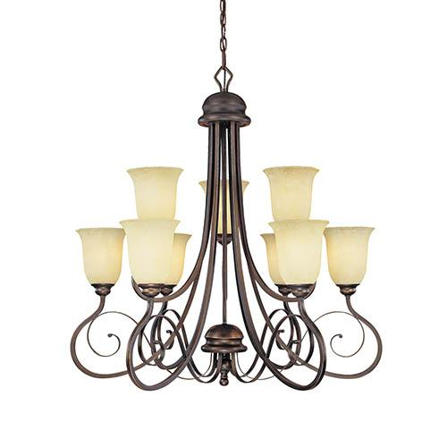 Lighting Showroom, Inc. in Anniston, Alabama, United States, Millennium 5WCJF, Chandelier Ceiling Light, Chateau