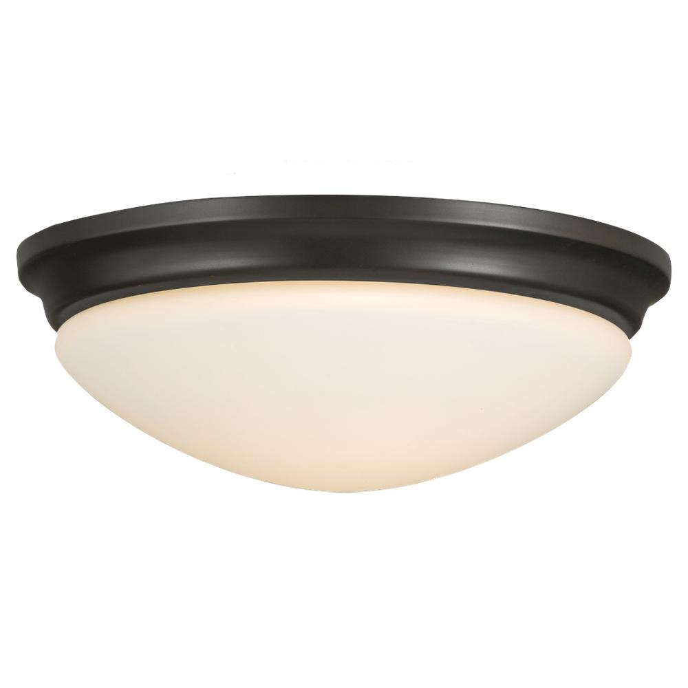 Lighting Showroom, Inc. in Anniston, Alabama, United States, Feiss 5AL1, 2- Light Indoor Flush Mount, Barrington