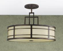 Feiss F2081/3GBZ - 3- Light Shade Pendant