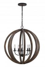 Feiss F2936/5WOW/AF - 5 - Light Large Pendant