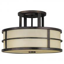 Feiss SF217GBZ - 3- Light Indoor Semi-Flush Mount