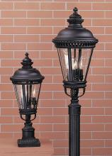 Feiss OL1907BK - 3- Light Post