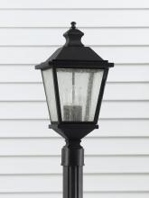 Feiss OL5707BK - 3- Light Post