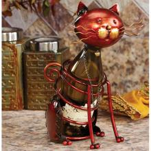 Deco Breeze DFA1867 - Wine Bottle Holder - Cat
