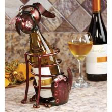 Deco Breeze DFA1869 - Wine Bottle Holder - Dog