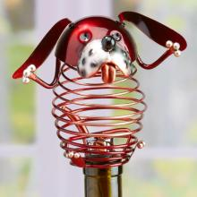Deco Breeze DFA1874 - Wine Bottle Stopper - Dog