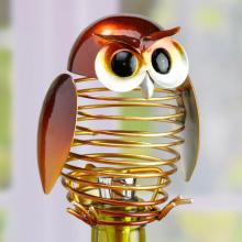 Deco Breeze DFA1877 - Wine Bottle Stopper - Owl