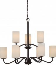 Nuvo 60/5909 - Willow 9 Light 2 Tier Hangng Fxtr